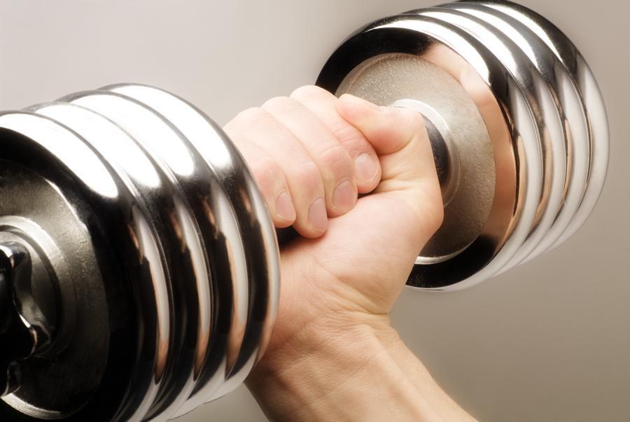 Lifting Weights  Print