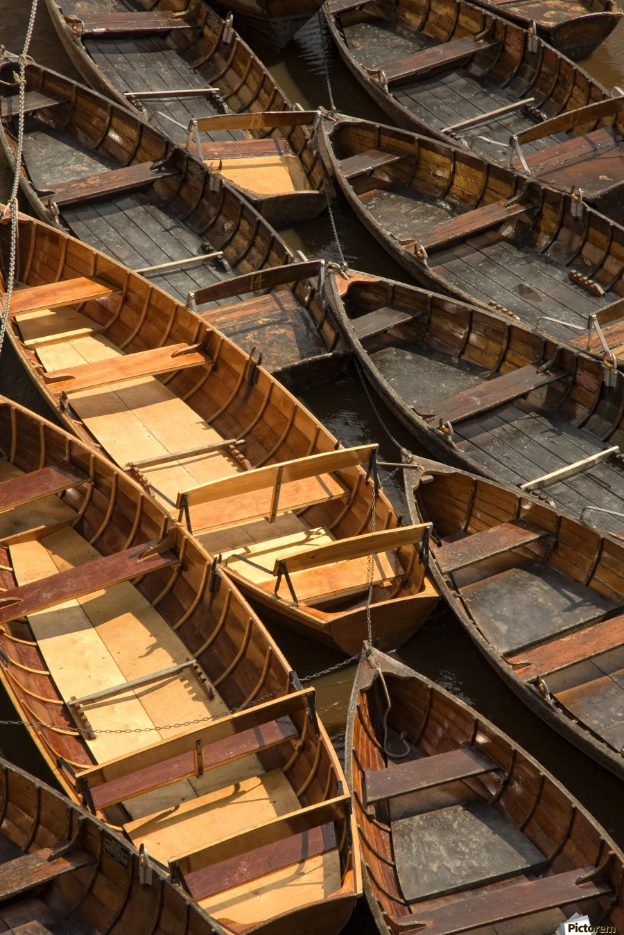 Wooden Boats  Print