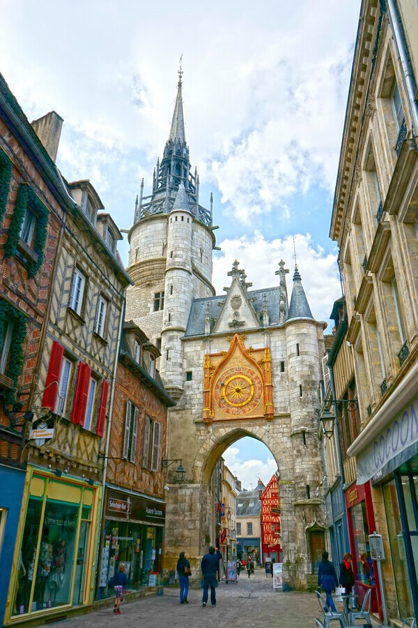 Auxerre France Snapshot in Time  Print