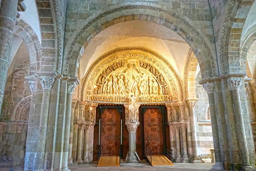 Basilica of Sainte Marie Madeleine 3 of 5 @  Vezelay France  Print