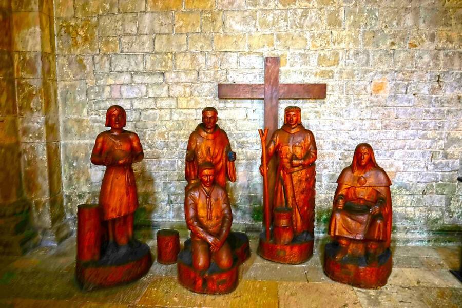 Basilica of Sainte Marie Madeleine 5 of 5 @  Vezelay France  Print