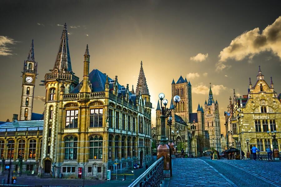 Passport to Belgium 2 of 5  Print