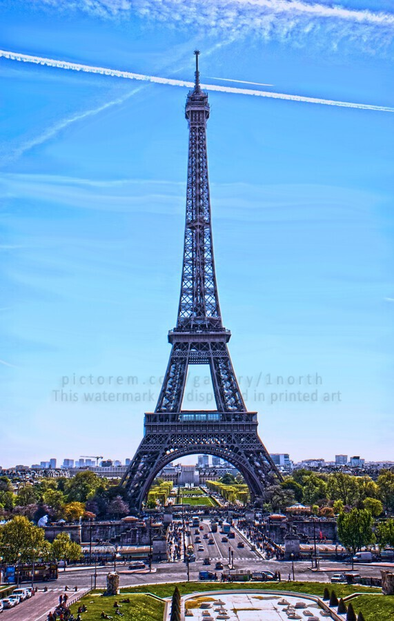 Majestic Eiffel  Print