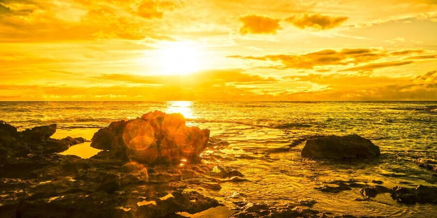 Majestic Sunset Panorama  Print