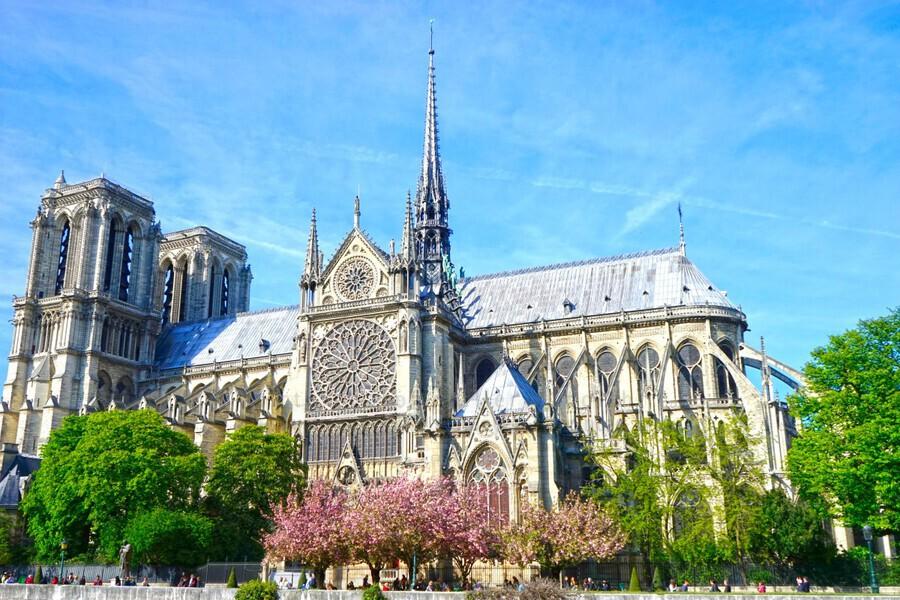 Notre Dame @ Paris  Print