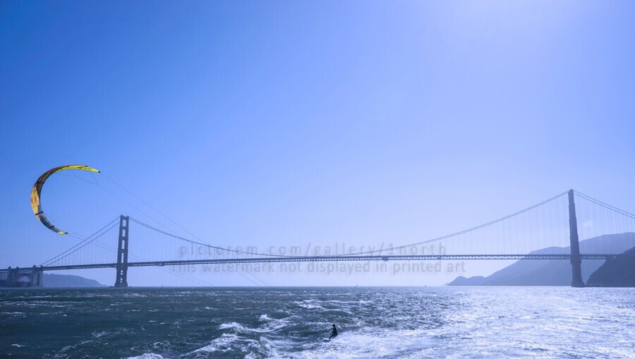 Wind Surf the Bay @ San Francisco  Print