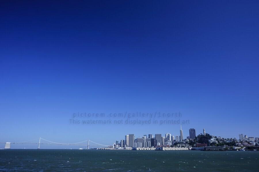 The Bay @ San Francisco  Print