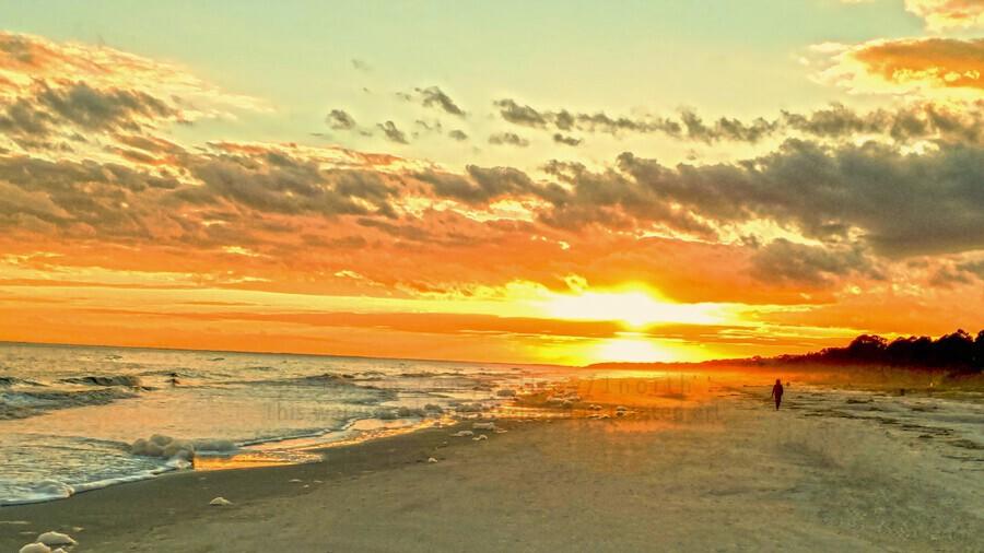 The Carolina Sunset  Print