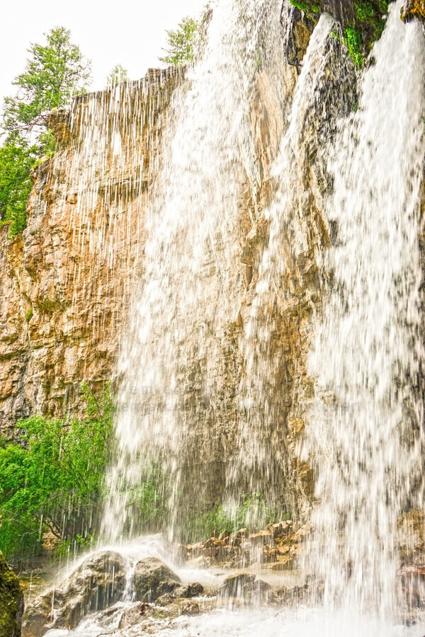 Rocky Mountain Rapids and Waterfalls 3 of 8  Print