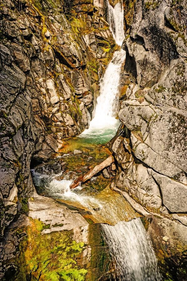 Cascading Falls  Print