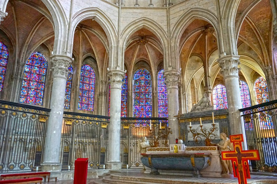 Immortal Cathedrale Saint Etienne 5 of 6  Print