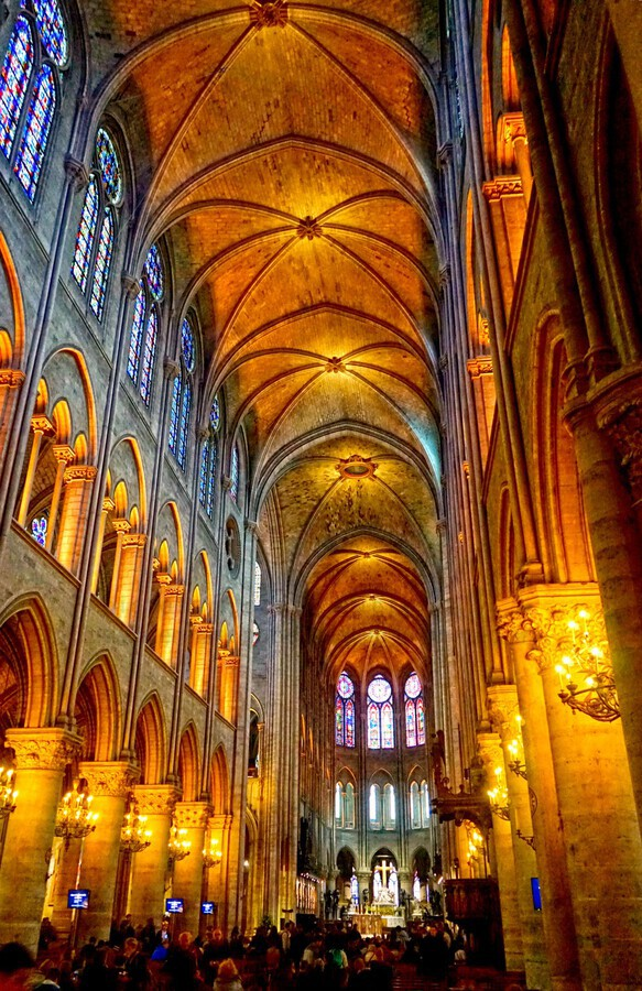 Jeanne d Arc and Saint Croix Cathedral at Orleans   France 2 of 7  Print