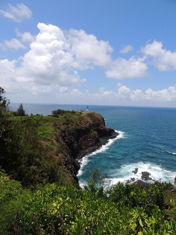 Kauai Lighthouse  Print