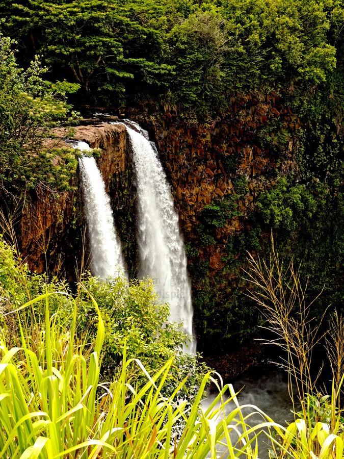 Kauai Waterfalls  Print