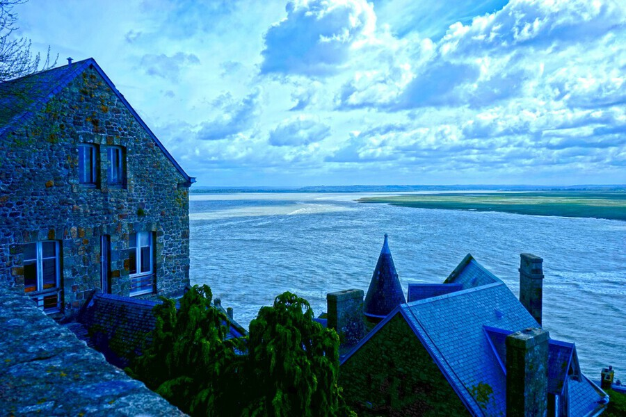 A Day at Mont Saint Michel 11 of 12  Print