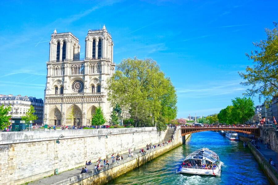 Paris Snapshot in Time 8 of 8  Print