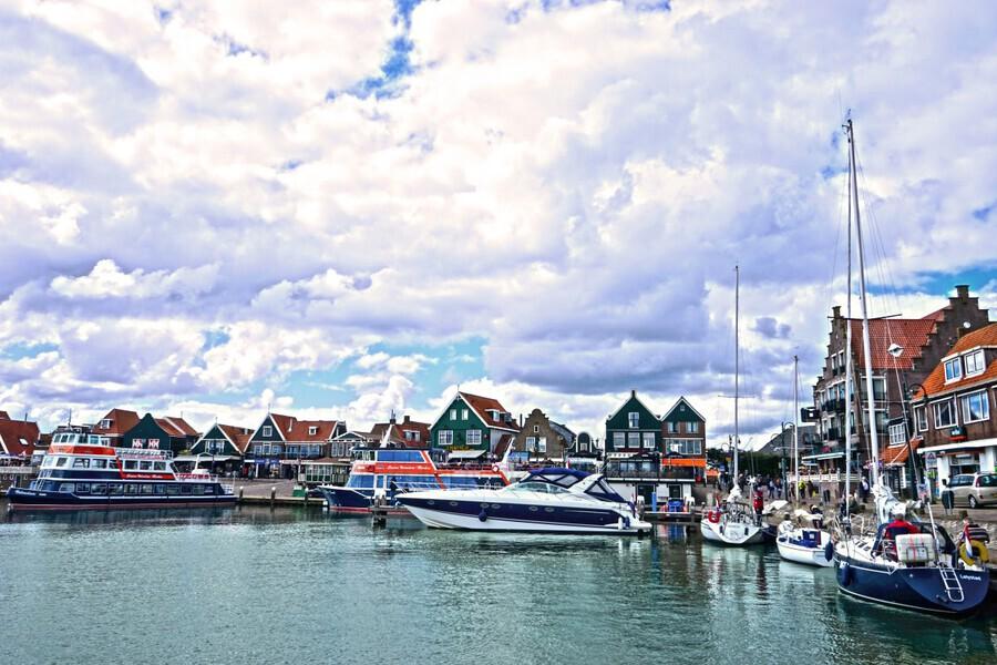 Inland Harbor Netherlands 1 of 5  Print