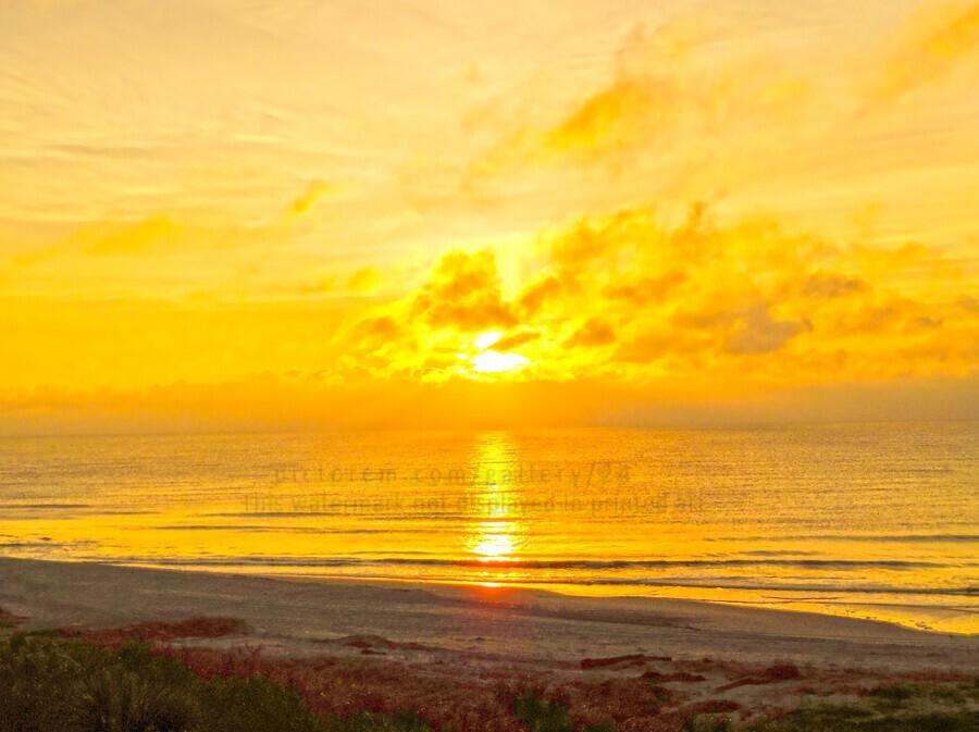 Sunrise over the Atlantic  Print
