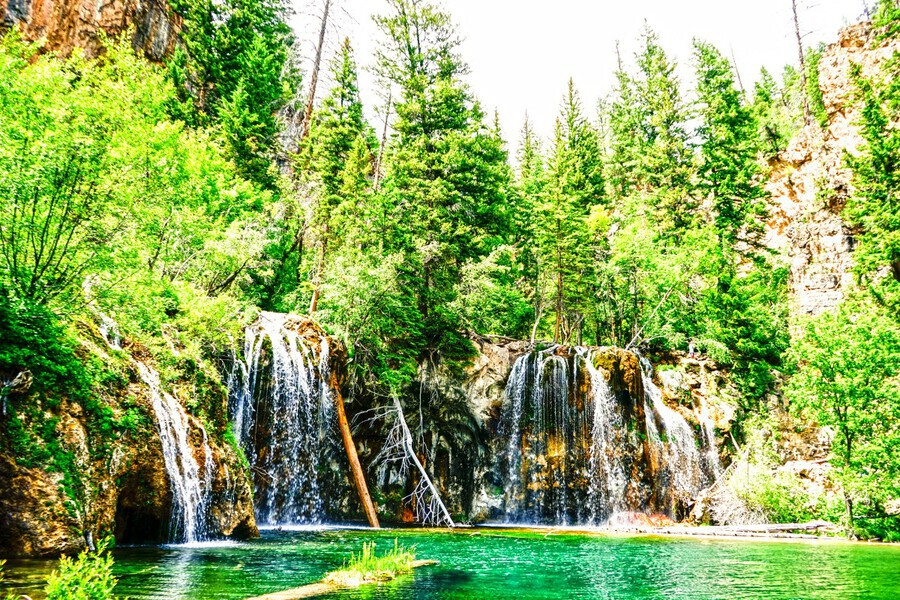 Waterfall Country Colorado 3 of 4  Print