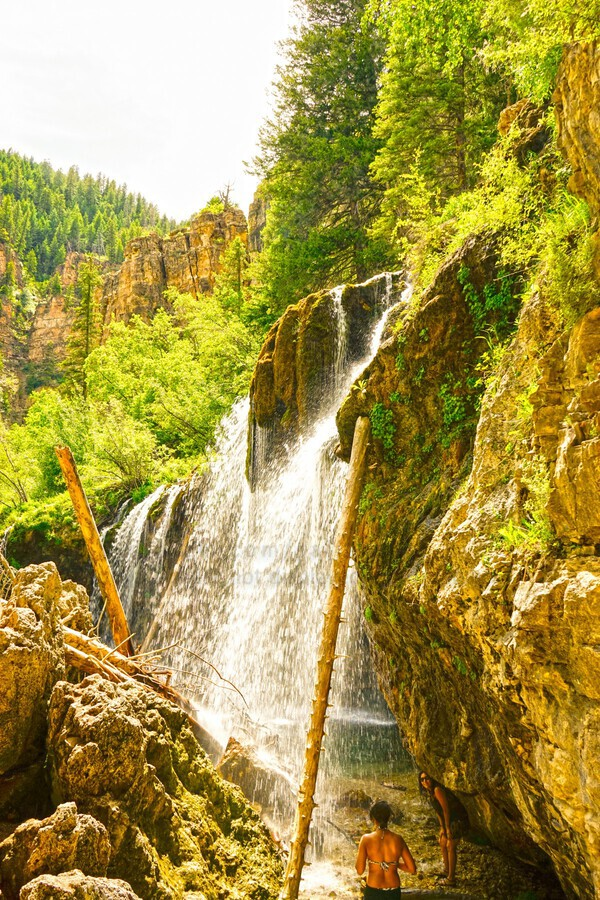 Waterfall Country Colorado 4 of 4  Print