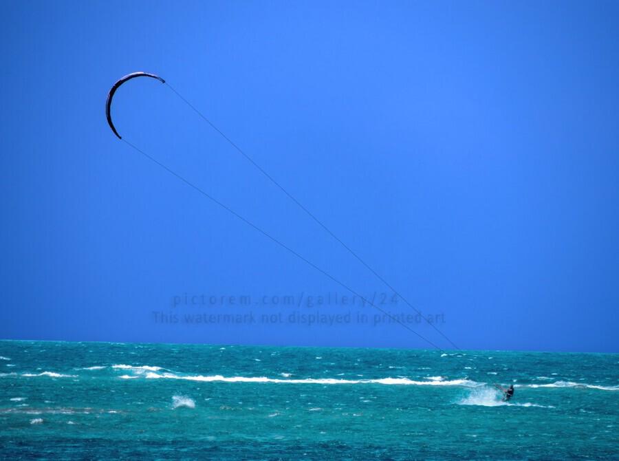 Wind Surf Hawaii  Print