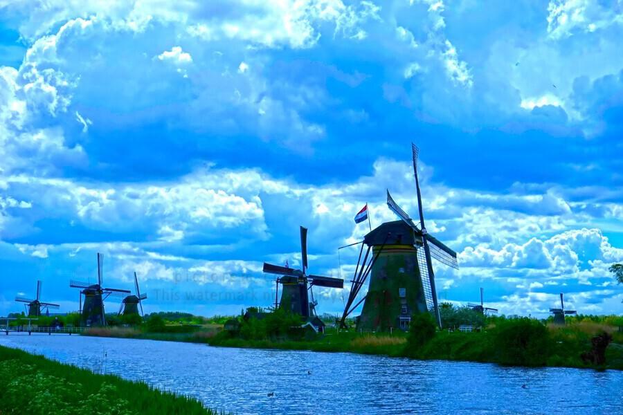 I Dreamed of Windmills  Print