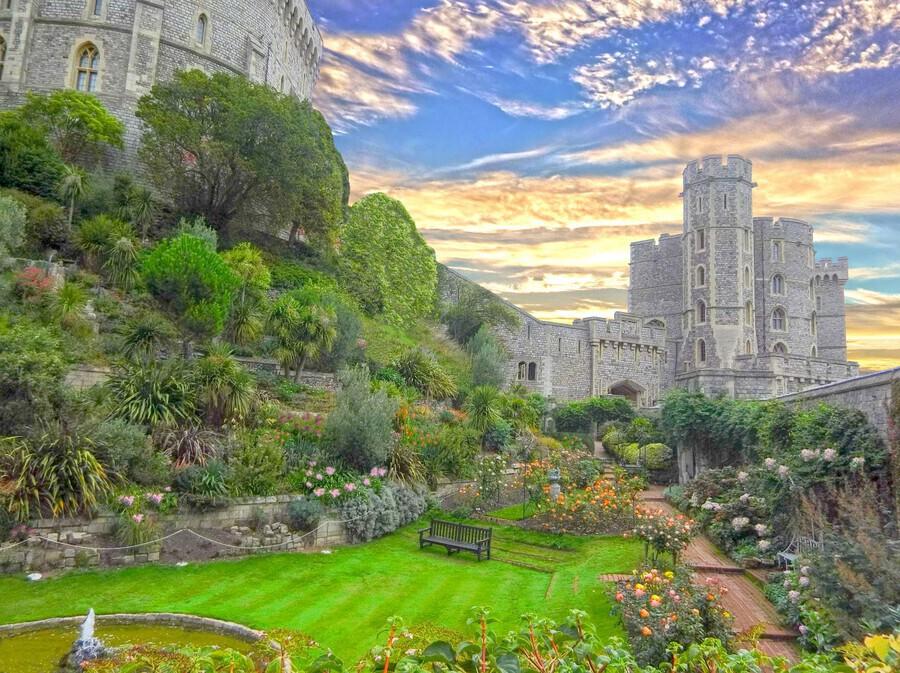Windsor Castle England 1 of 2  Print