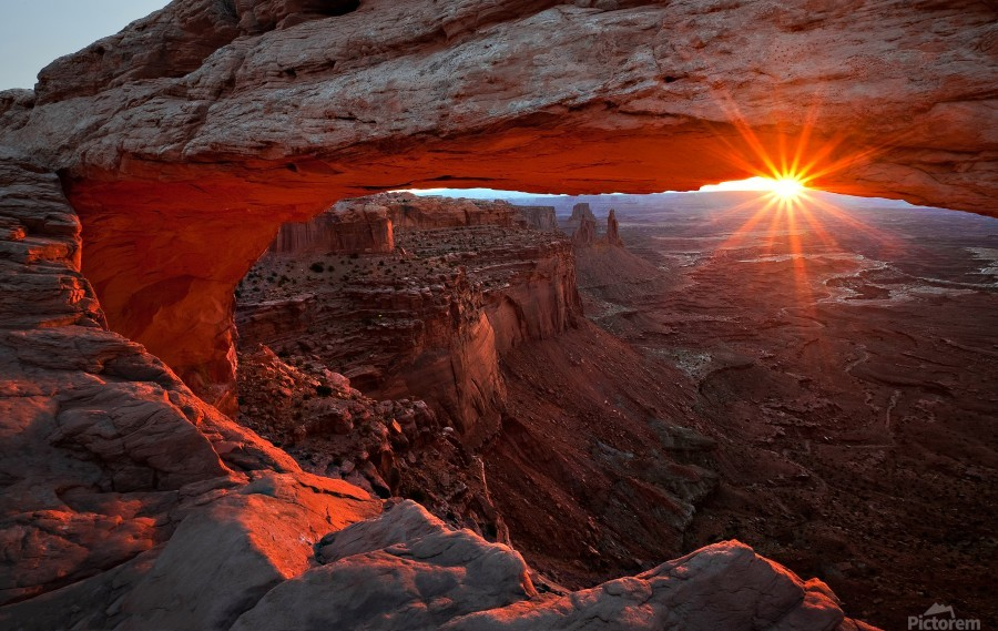 Mesa Arch Sunrise  Print