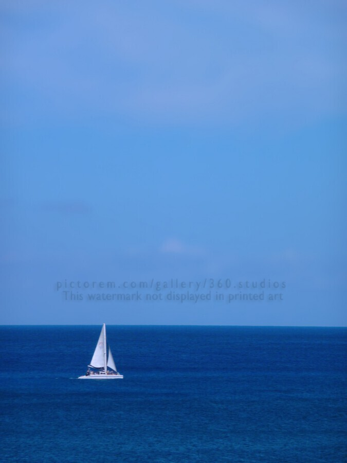 Blue Day  Print