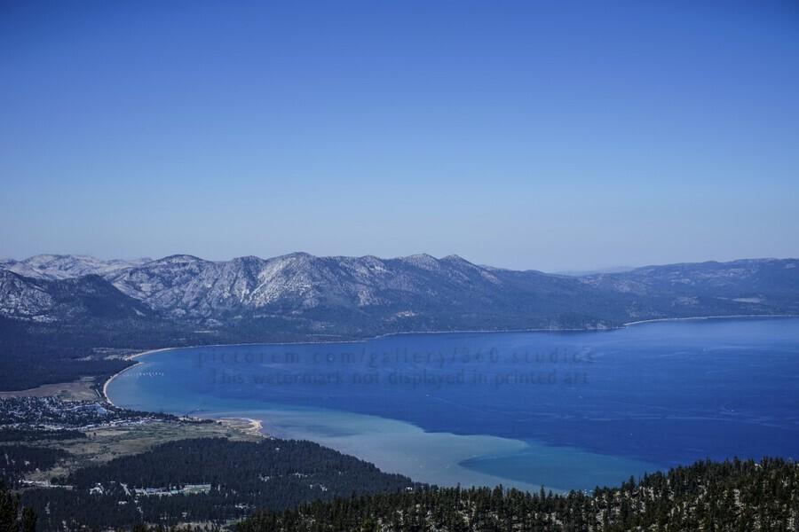 Lake Tahoe View  Print