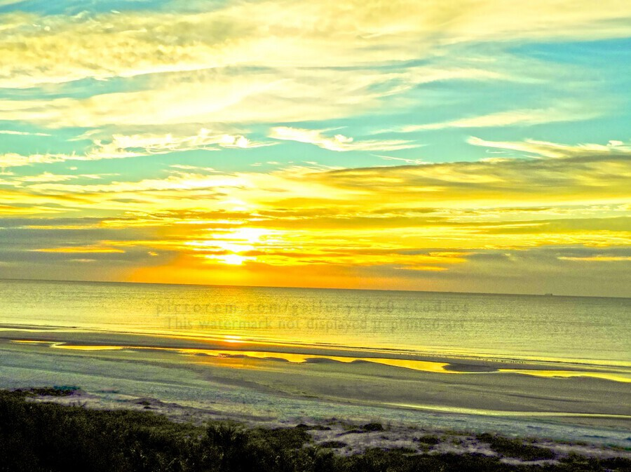 Sunrise in the Carolinas  Print