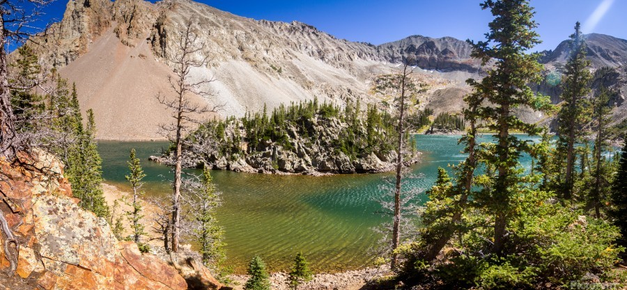 Lake Agnes Colorado   Imprimer
