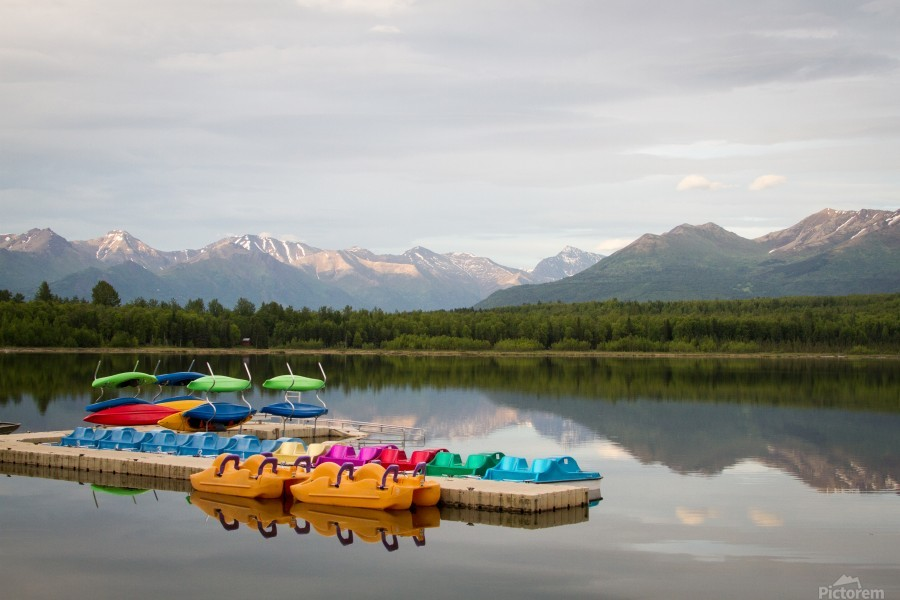 Alaska Lake and Sporting  Imprimer