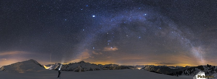 Under the Starbow by Dr. Nicholas Roemmelt  Print