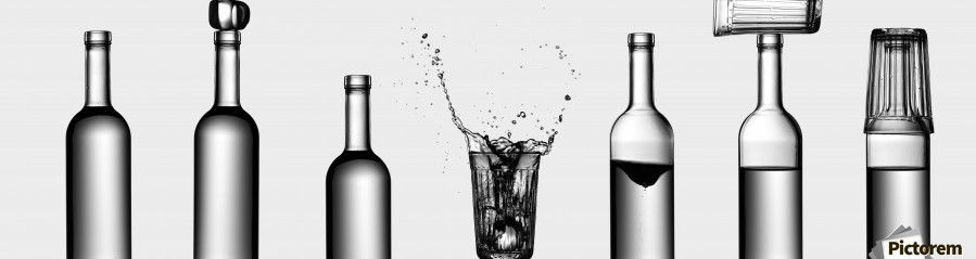 bottles game by Valeriy Kasmasov   Print
