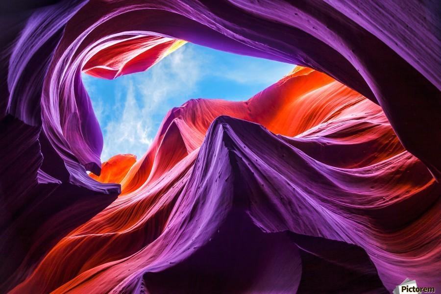 Magical Lower Antelope Canyon  Print