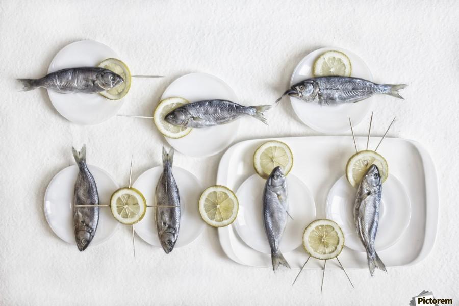 Still Life with Fish  Print