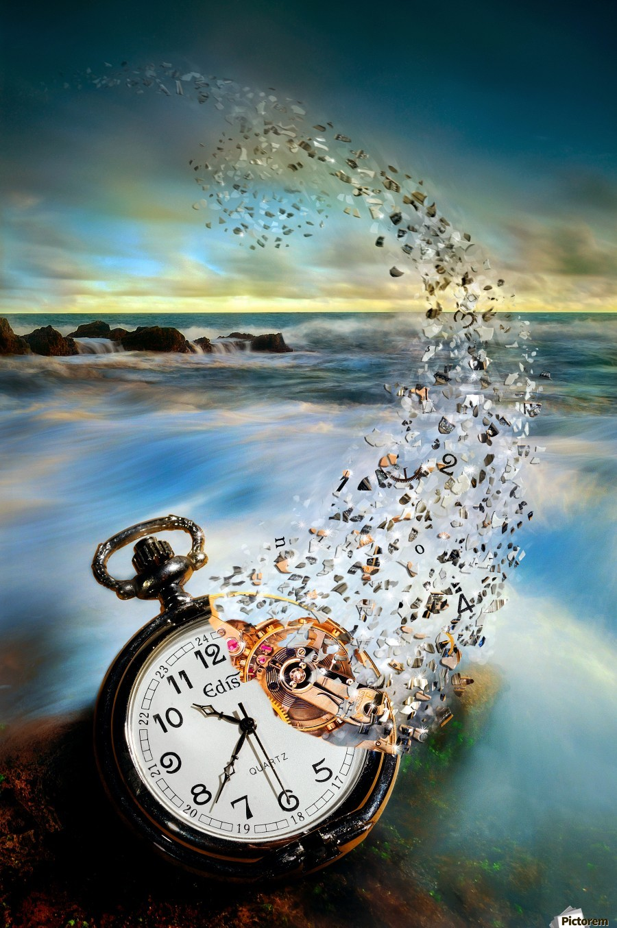 The Vanishing Time  Print
