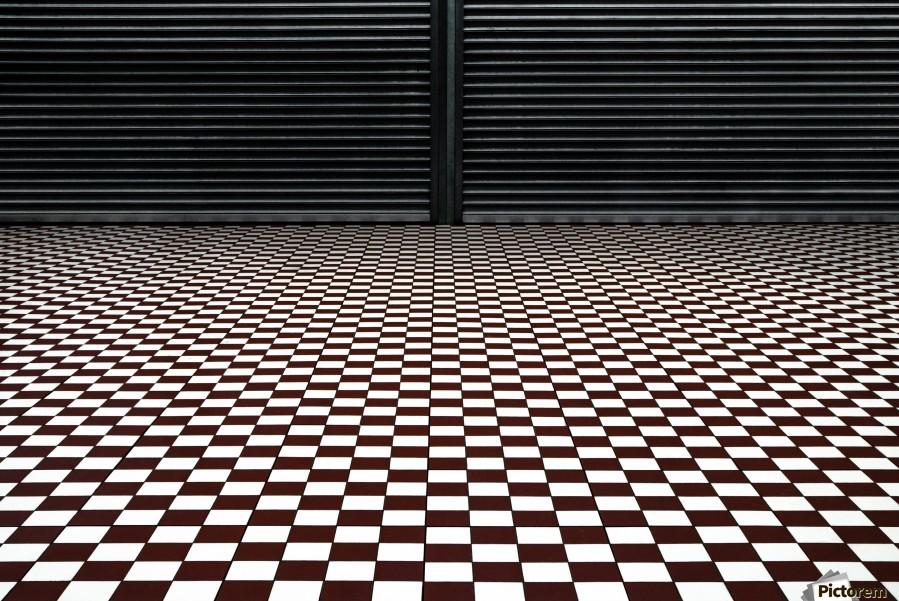 the hypnotic floor  Print