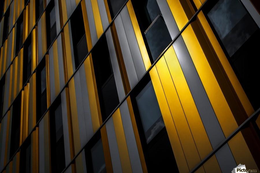 Yellow wall  Print