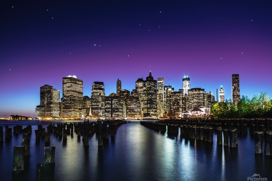New York Sky Line  Imprimer