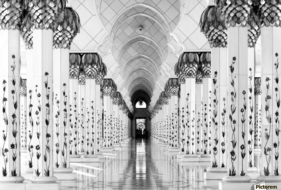 Sheik Zayed Mosque  Print