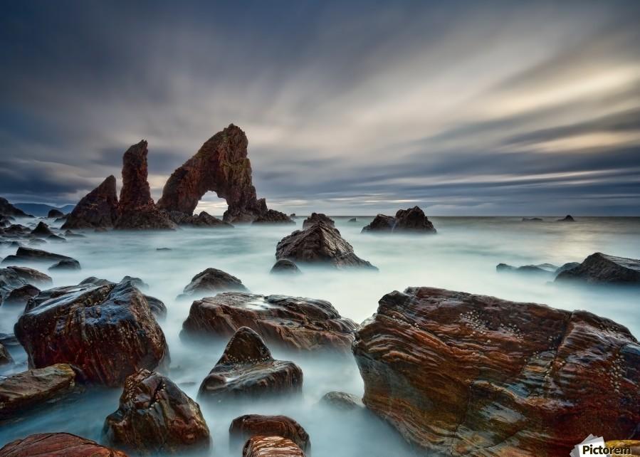 Sea Arch at Crohy Head by Derek Smyth   Print