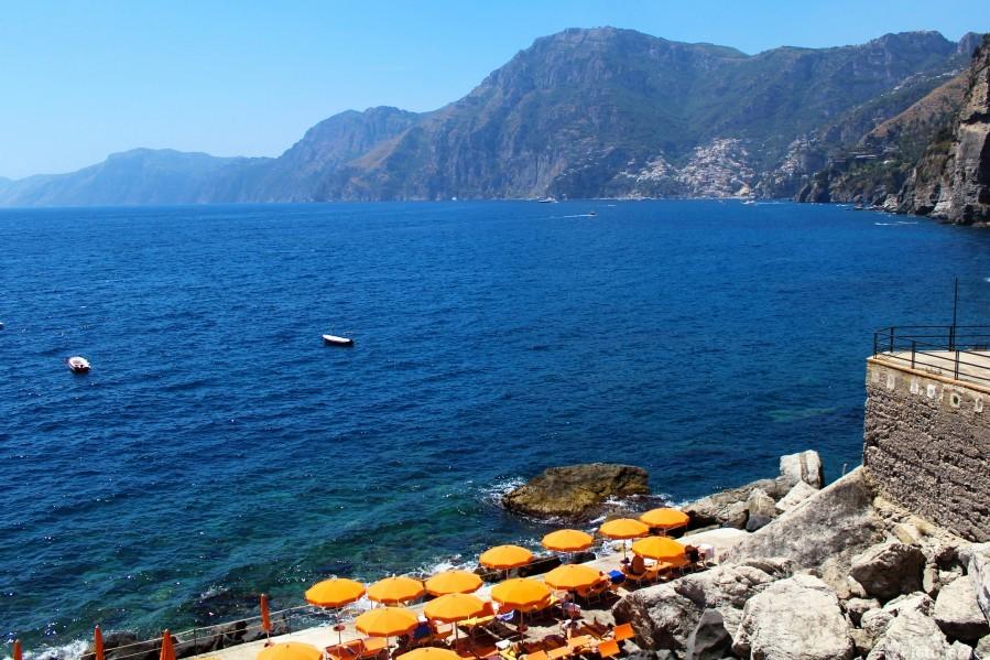 Praiano Beach - Amalfi Coast  Print