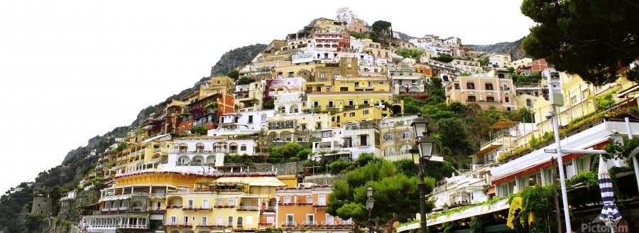 Italy Landscape - Positano  Print