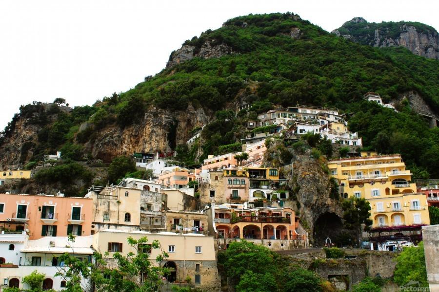 Landscape - Beautiful Village - Italy  Print