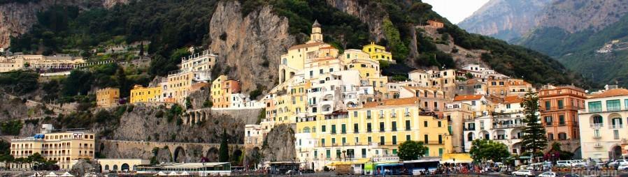 Amalfi Coast Super Panoramic   Print