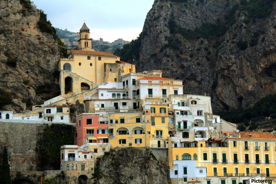Amalfi  Old Town - Italy  Print
