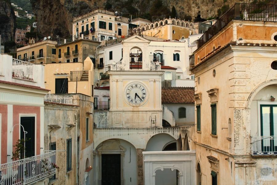 Church Clock - Italy   Imprimer