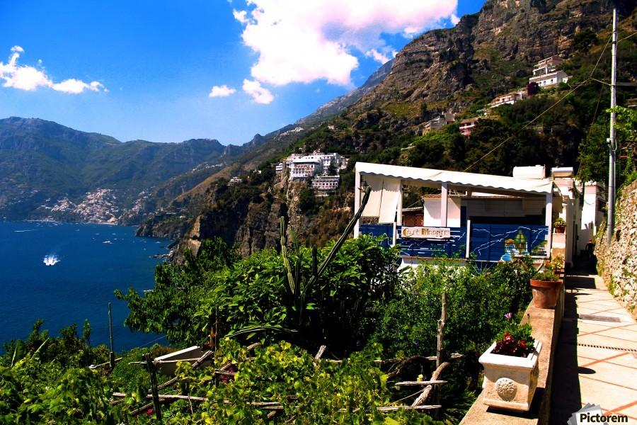 Amalfi Coast Landscape - Italy  Print